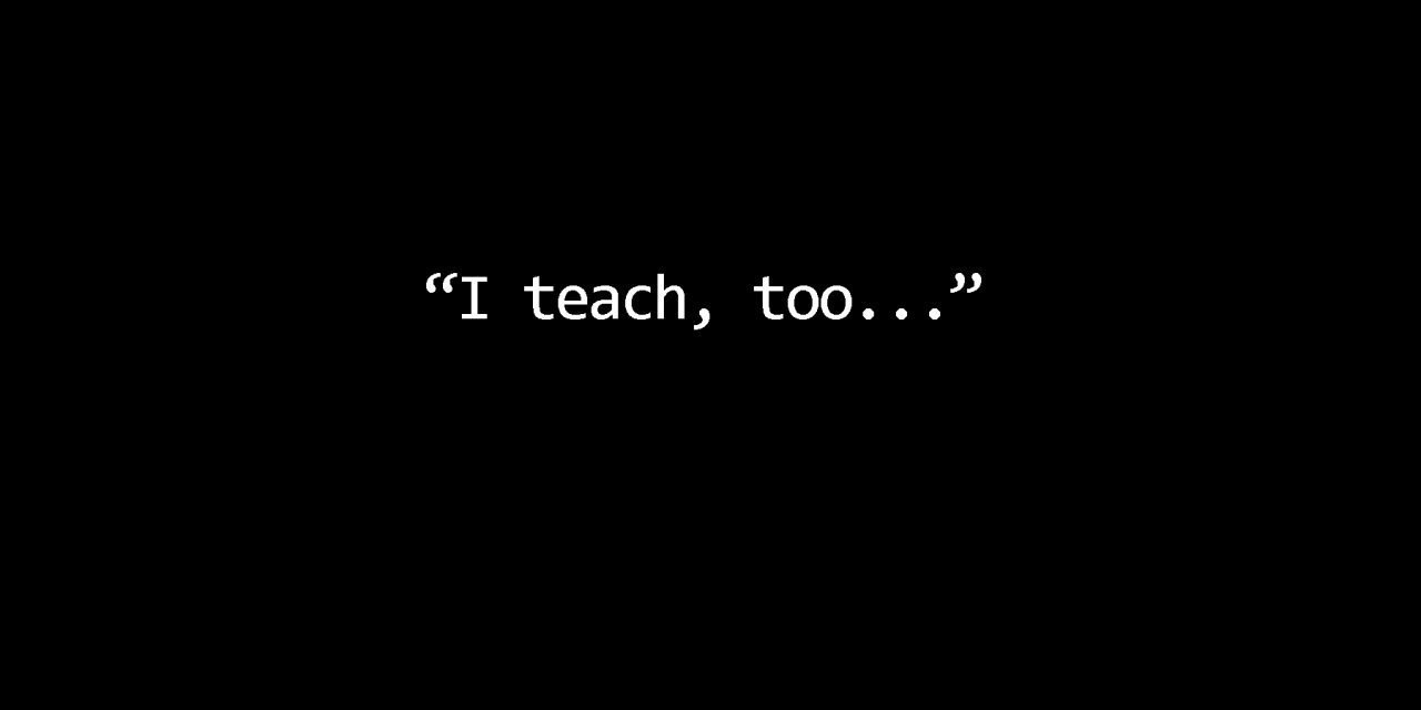 They are Teachers, Too??!! – 1 Tim 4:1