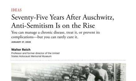 I Don't Understand Anti-Semitism – Rom 11:17